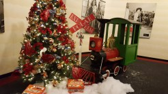 The Polar Express photo display