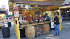 Fiesta Booth serving up Whoopie Pie, Cannoli, Mint Julep, Lager, and Michelada