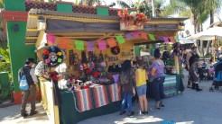 Art and Craft booths in Fiesta Village