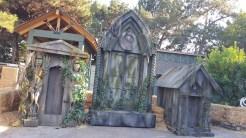 Repurposed Knott's Scary Farm props make perfect photo backdrops
