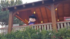 Lucy as a witch at the exit of Sierra Sidewinder