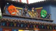 Decorations above the Cantina