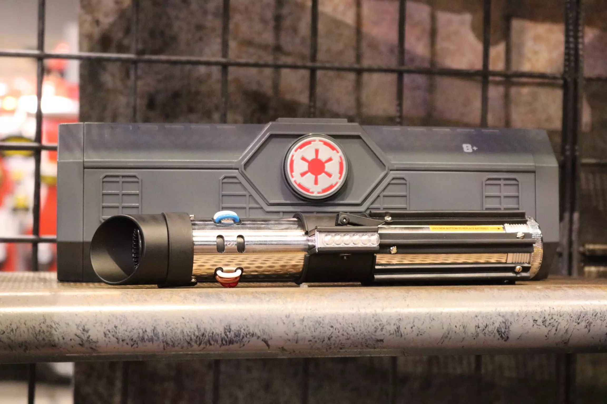 Darth Vader's lightsaber, the most infamous weapon in the galaxy, will be one of the many options available.