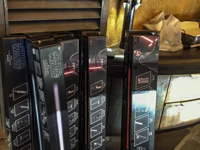 With limited stocks available, guests are now given the option to purchase Disney Parks brand lightsabers, with the same features as the Galaxy's Edge legacy collection.