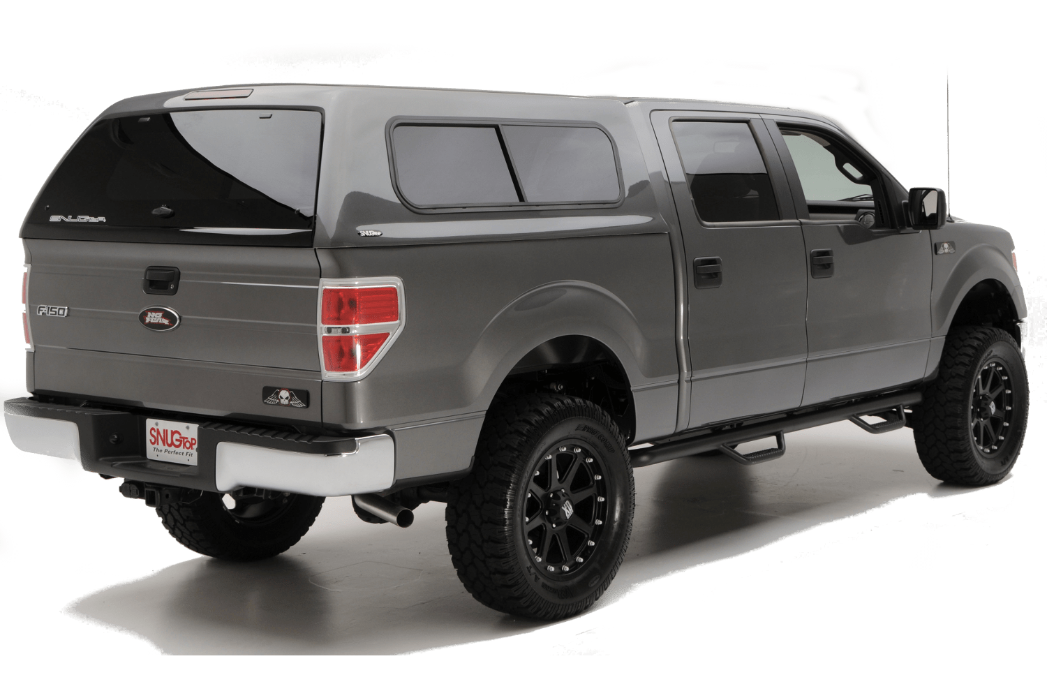 snugtop fiberglass camper shells ford f-150 rebel