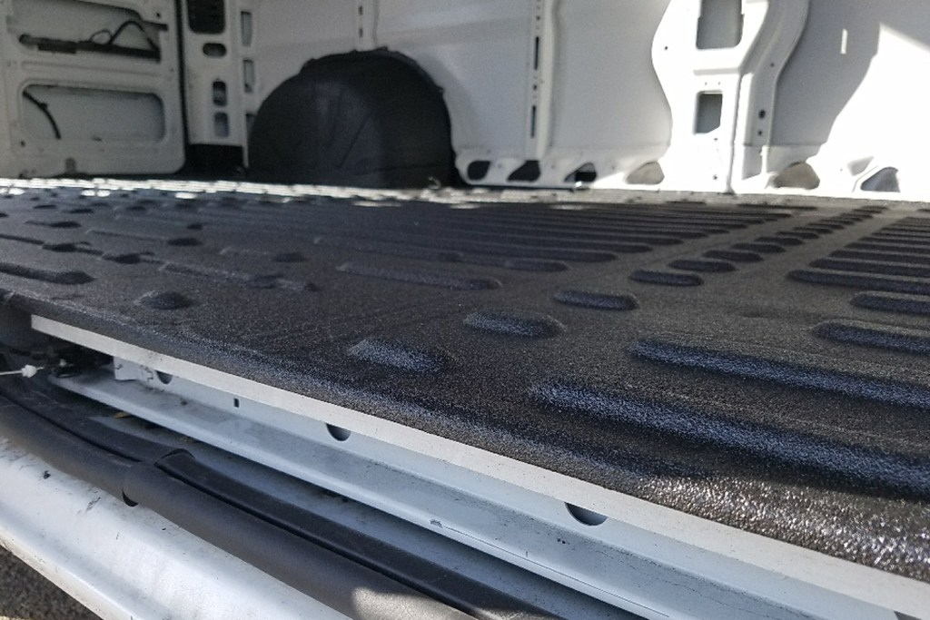 van equipment flooring bullet liiner