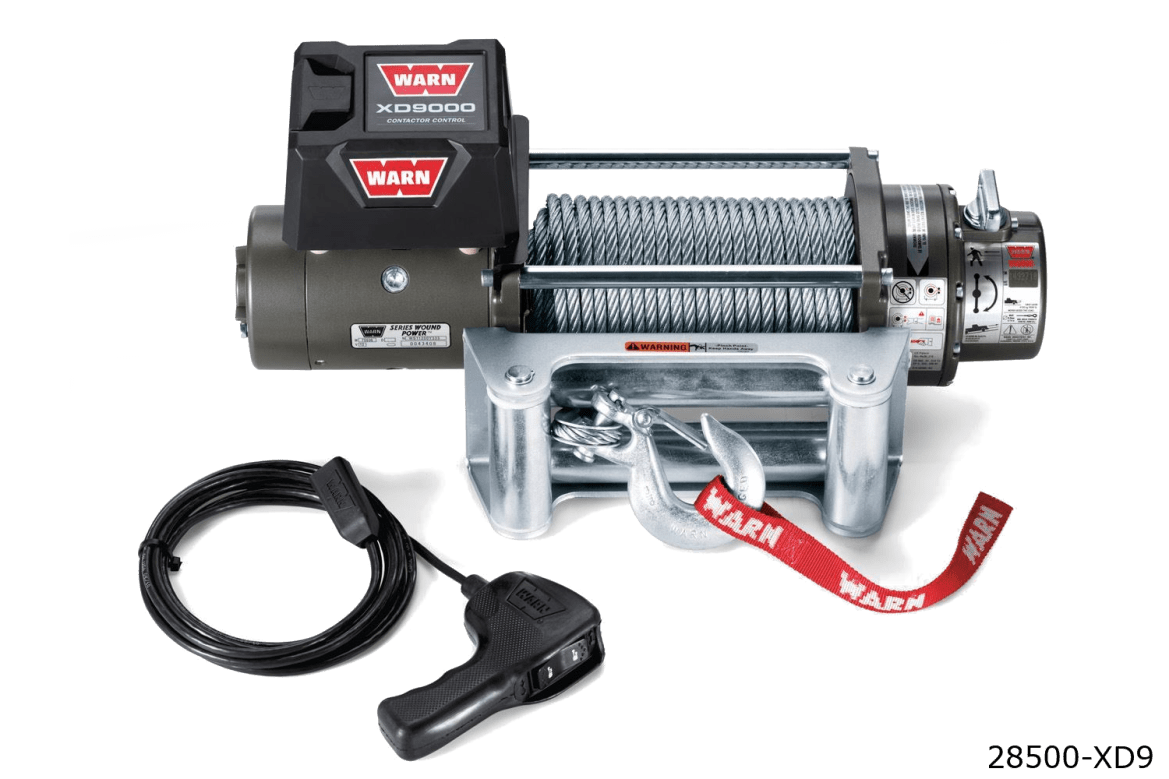warn truck & suv classic winches 28500 xd9