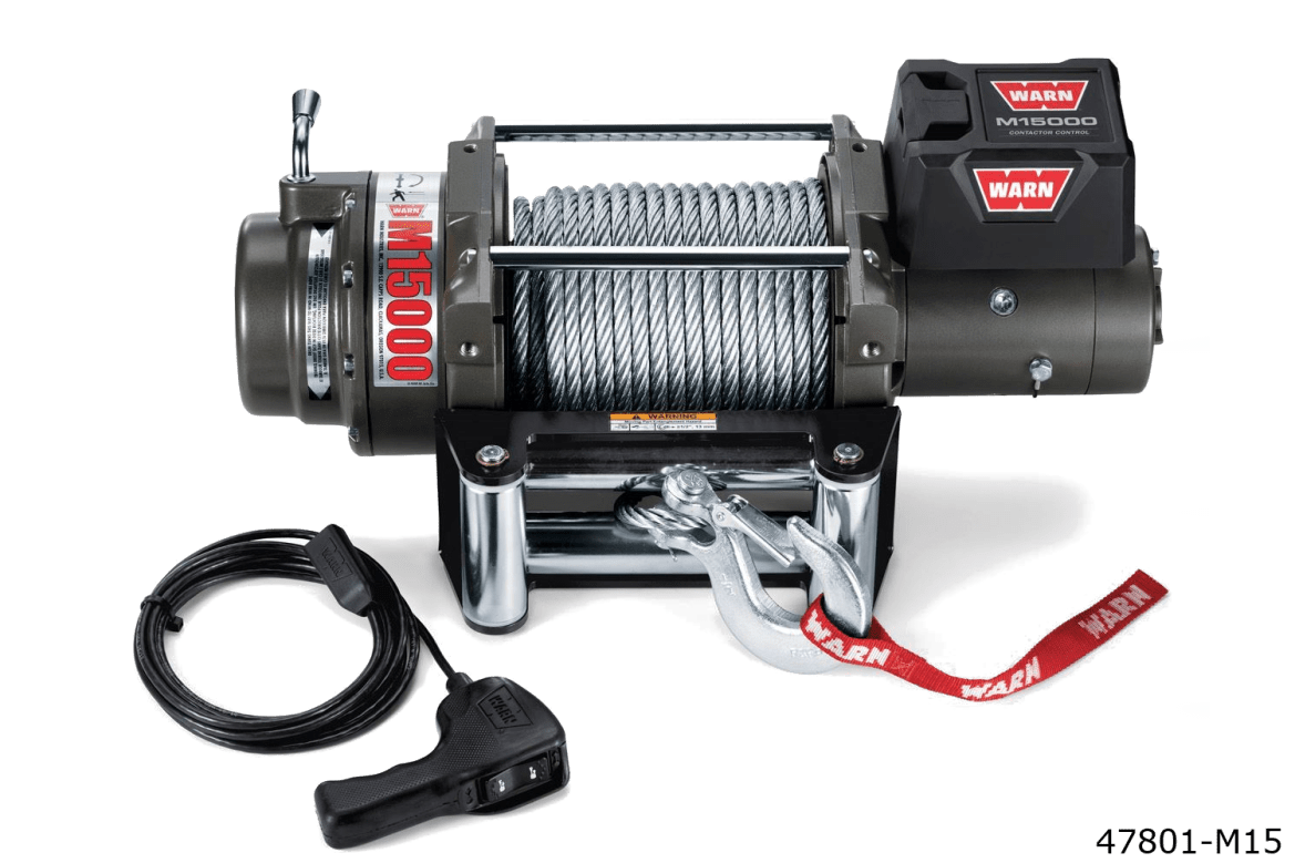 warn truck & SUV heavyweight winches 47801 m15