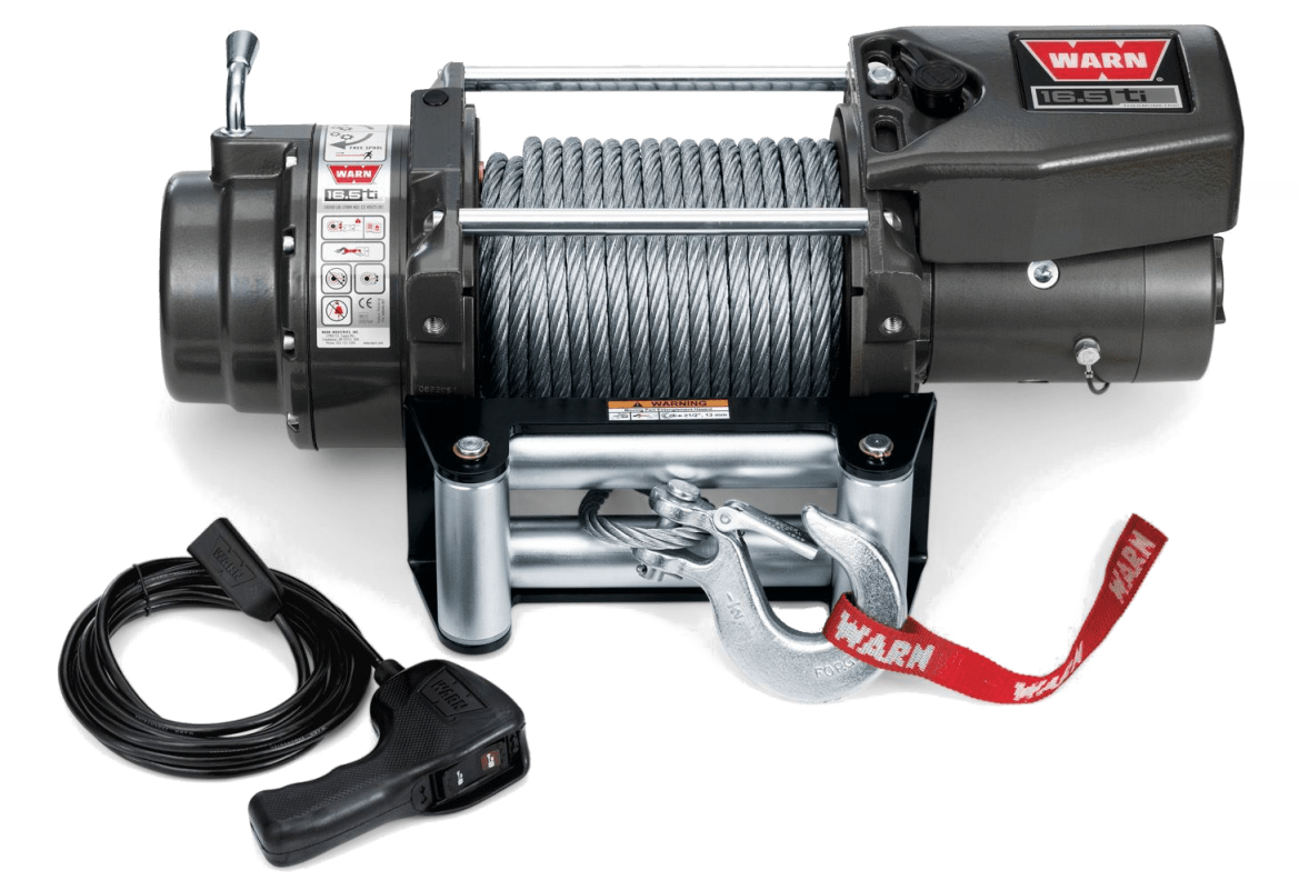 warn truck & suv heavyweight winches 68801 16.5ti