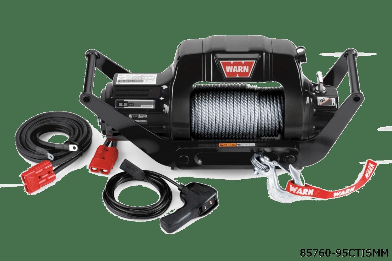 warn truck & suv classic winches 85760 9.5ctis multi mount
