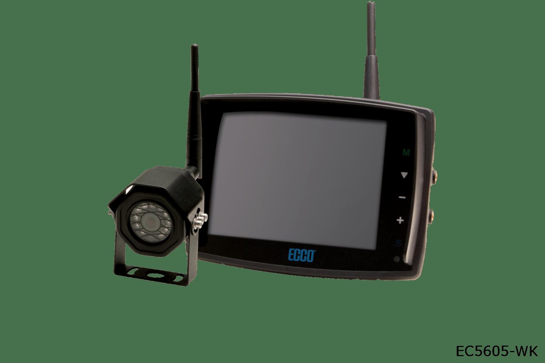 ecco camera systems ec5605-wk wireless systems