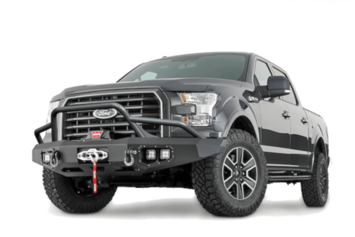 warn truck & suv bumpers ascent baja tubes ford F-150 warn industries bumpers