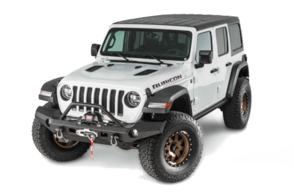 Warn truck & suv bumpers 101337 jeep jl wrangler warn industries bumpers