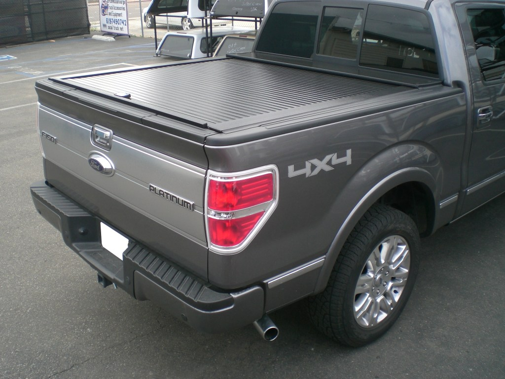 Installed a fresh brand new TruckCovers USA tonneau cover for a clean elegant look.