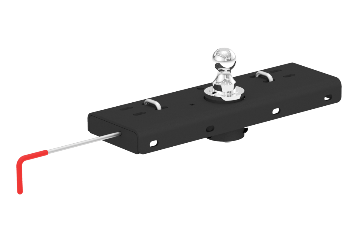 curt gooseneck hitch double lock 60607