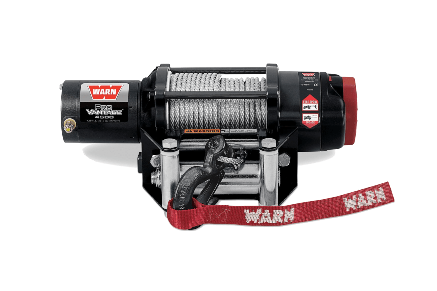 warn powersports provantage 4500 90450