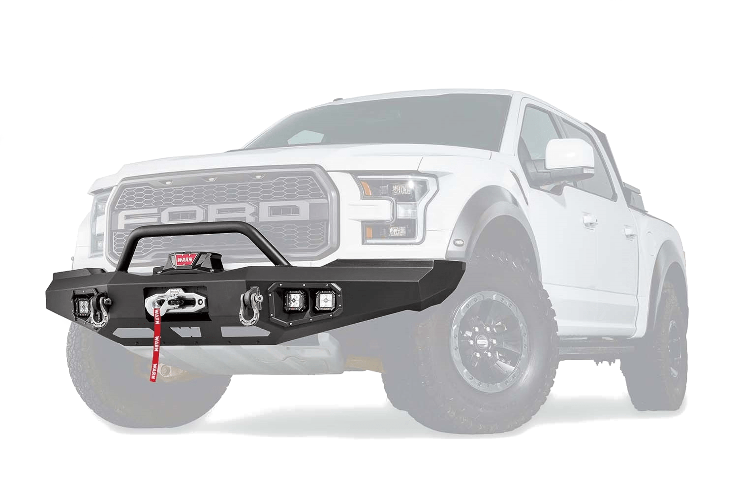 warn truck & SUV bumpers ford raptor ascent front bumper 99850 warn industries bumpers
