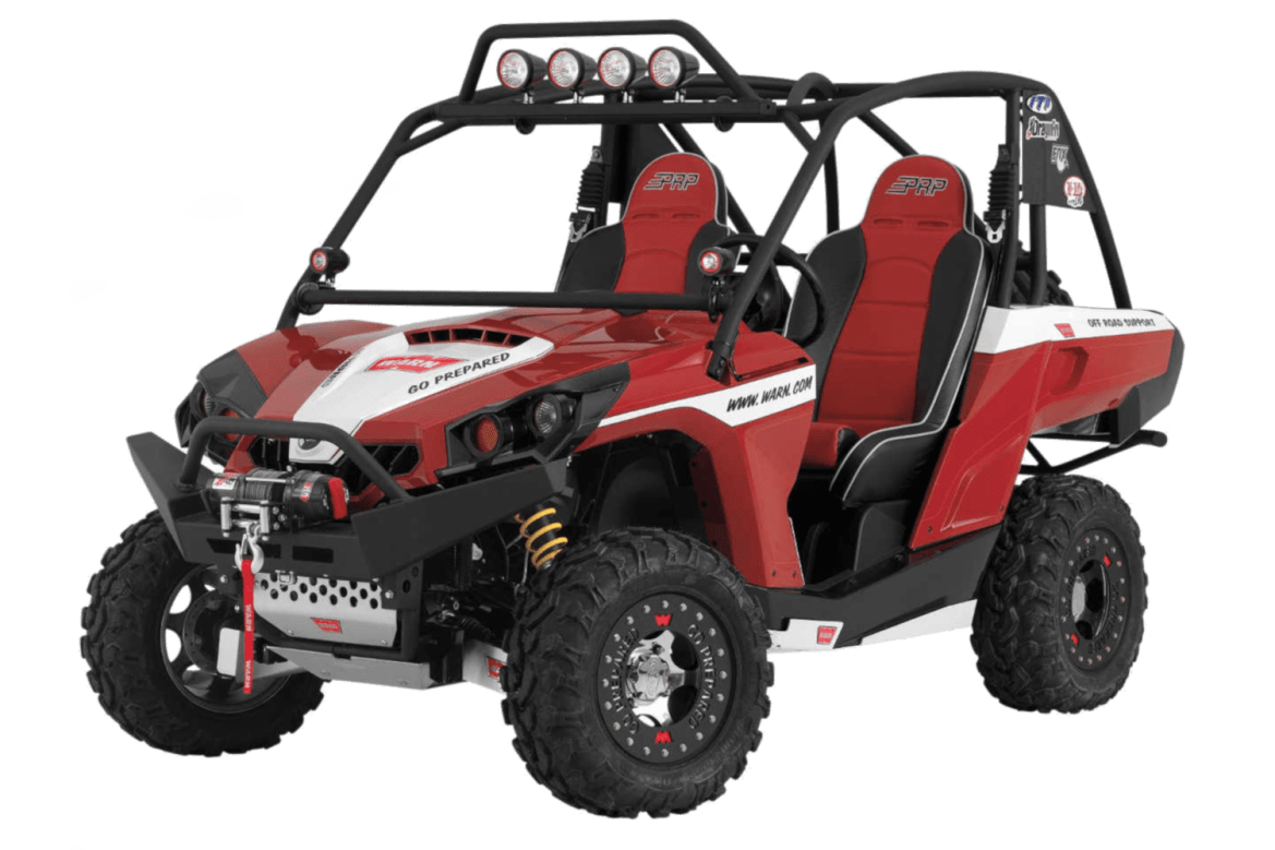 warn powersports can am brp bumpers