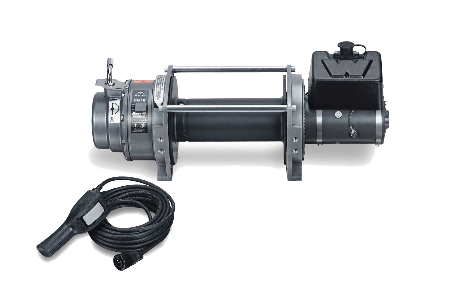 warn industrial dc electric winches 72005
