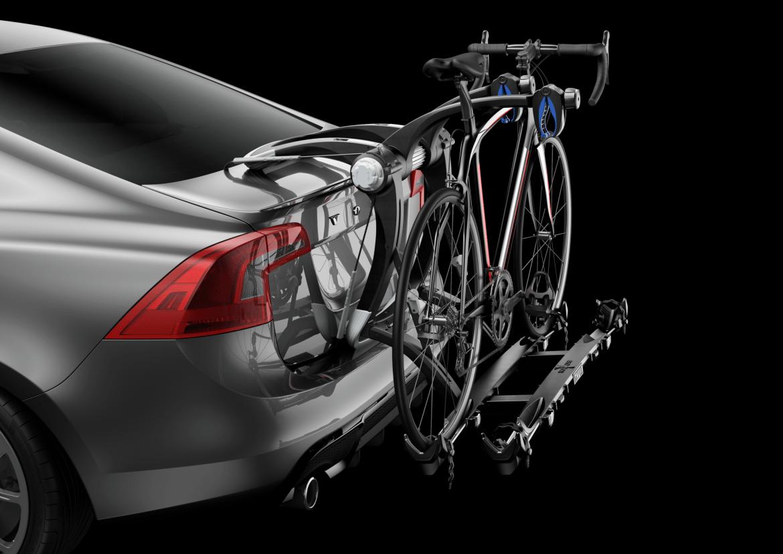 thule trunk bike racks, thule trunk bike rack, Thule helium raceway platform pro bike rack