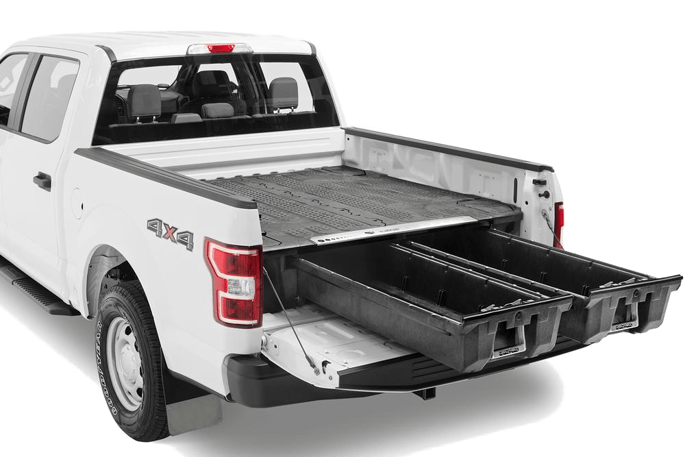 decked full size truck storage extended drawers