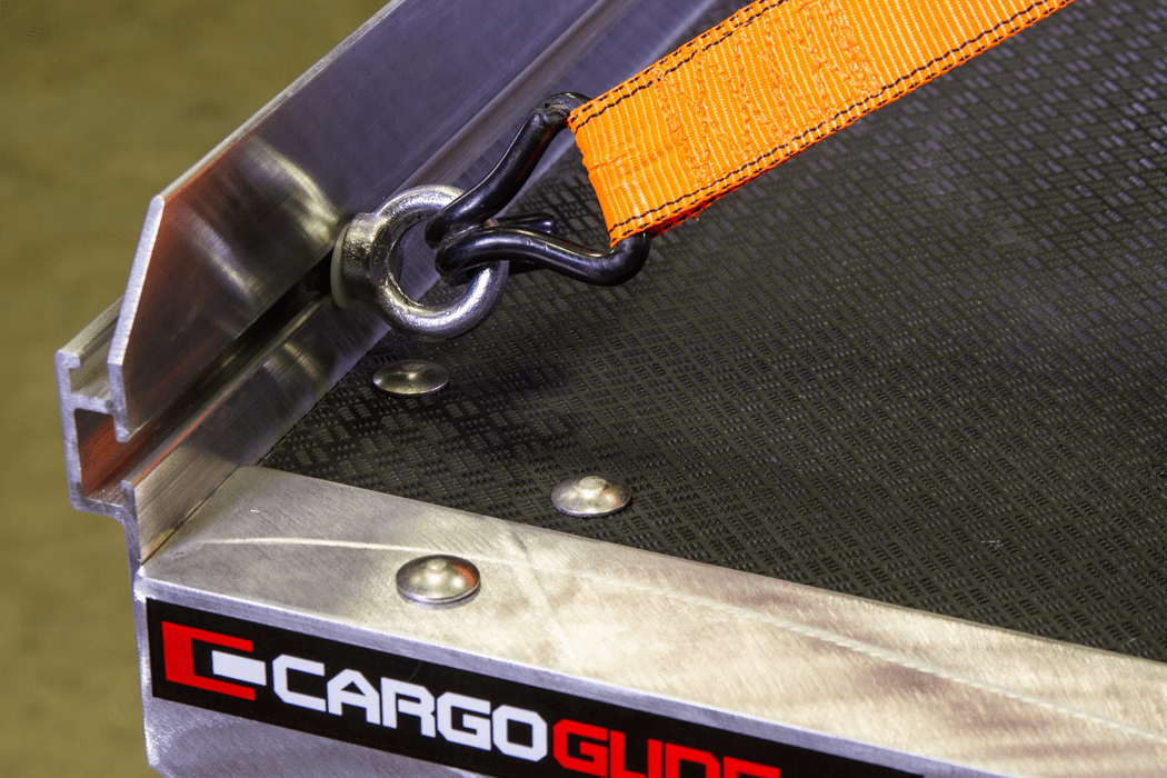 Tie down points make cargo management a breeze.