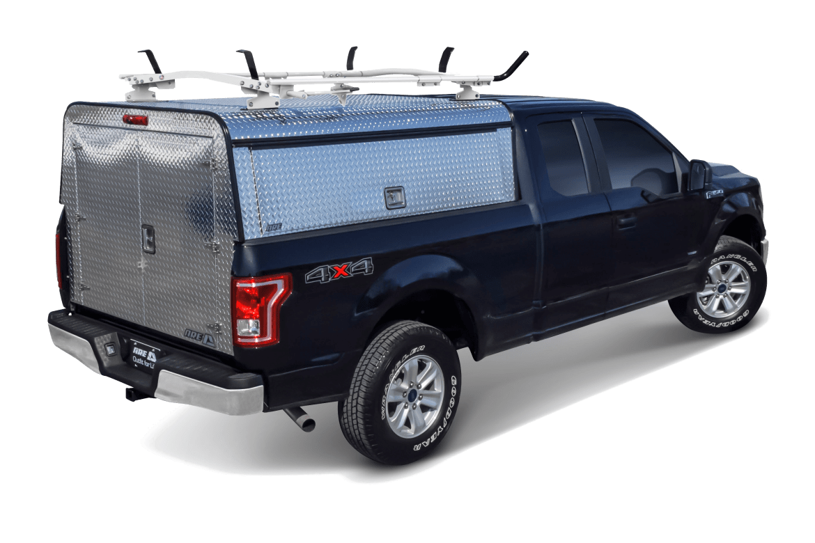 ARE DCU MAX shown installed on a Ford F150