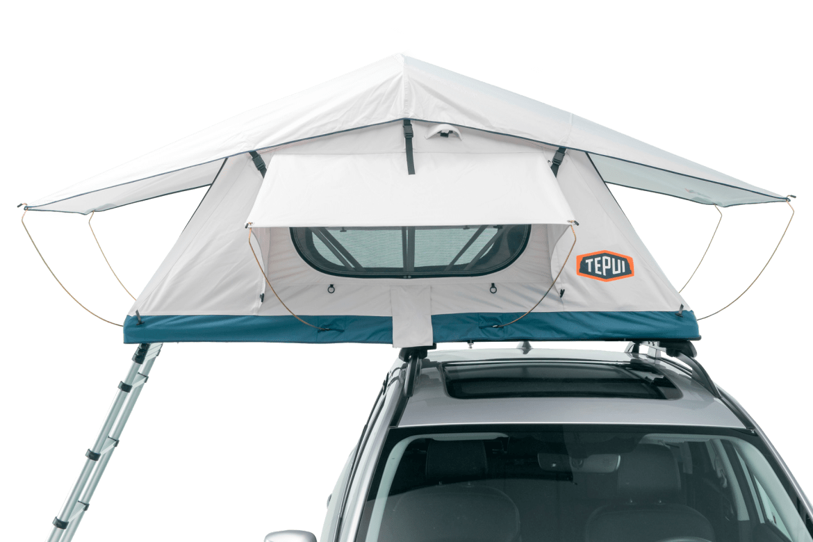 Tepui Low-Pro shown installed on a vehicle.