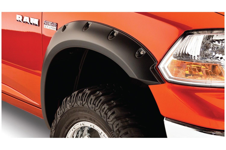 BushWacker Pocket Style front fender flares close up.
