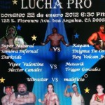 Lucha Pro 01-22-2012