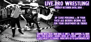Santino 10-24-14 flyer
