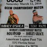 OCCW 3-12-16 flyer