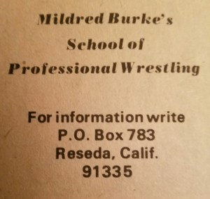 An ad for Burke's school.