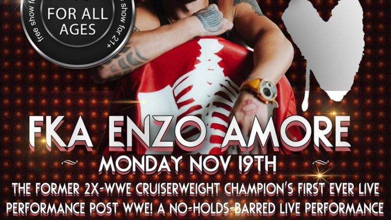 Taking a look at nZo's (formerly Enzo Amore) first rap show