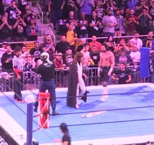 Jay White & Taiji Ishimori vs. Tetsuya Naito & Bushi at NJPW's Super J Cup 2019 in Long Beach, CA (August 25th, 2019)