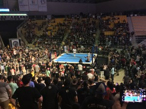 Jushin Liger and El Phantasmo at the Suoer J Cup 2019 in Long Beach (August 25th, 2019)