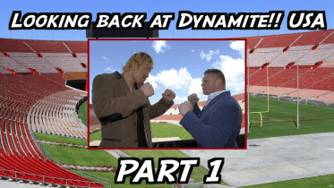 Looking back at Dynamite!! USA – Part 1