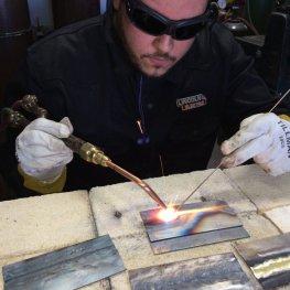 WLDG1101 - Oxy Acetylene Welding (OAW) Running a Bead 2
