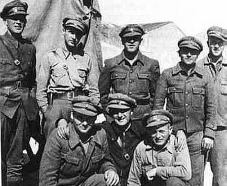 Foto: XI Brigade. Anti-fascist War in Spain 1936-1939. Tyske frivillige.