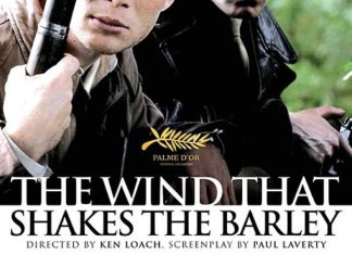 """Film poster for Ken Loachs film """"The Wind that shakes the barley."""""""
