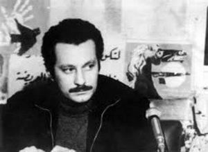 Ghassan Kanafani på PFLP kontoret i Beirut. Dræbes med en bilbombe af israelske agenter d. 8. juli 1972.