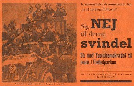 Socialdemokrtisk Ungdoms Plakat