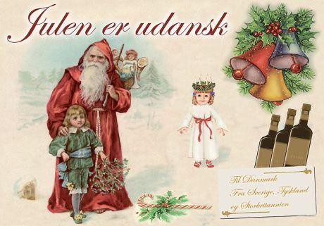 Julen er udansk - Illustration til artiklen nedenfor af Andre Leit/Mediefabrikken