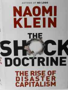 "Cover of Naomi Klein's ""The Shock Doctrine"""