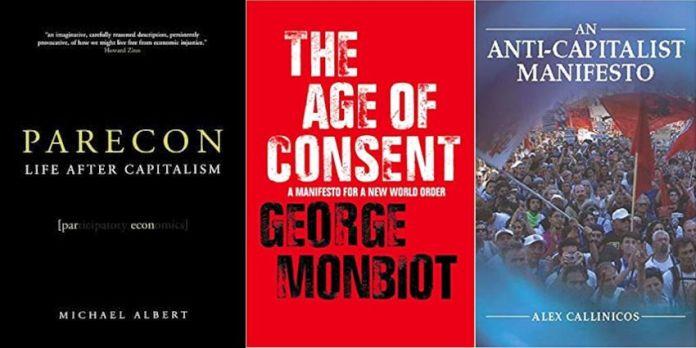 Bøger om Socialistisk Økonomi Kollage / Books on Socialist Economy Collage