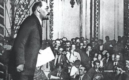 Lenin taler på 3. Komntern-kongres