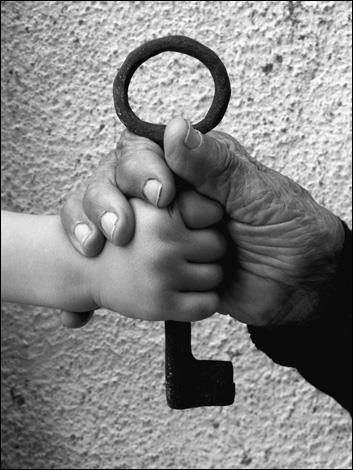 Nøglen er et stærkt symbol på palæstinenerenes ret til at vende tilbage til deres egen jord.