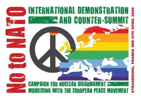 No to NATO demo, april 2009