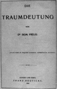Drømmetydning, bog af Freud
