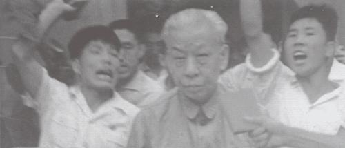 Folkerepublikkens præsident Liu Shaoqi var den kineske kulturrevolutionens egentlige mål